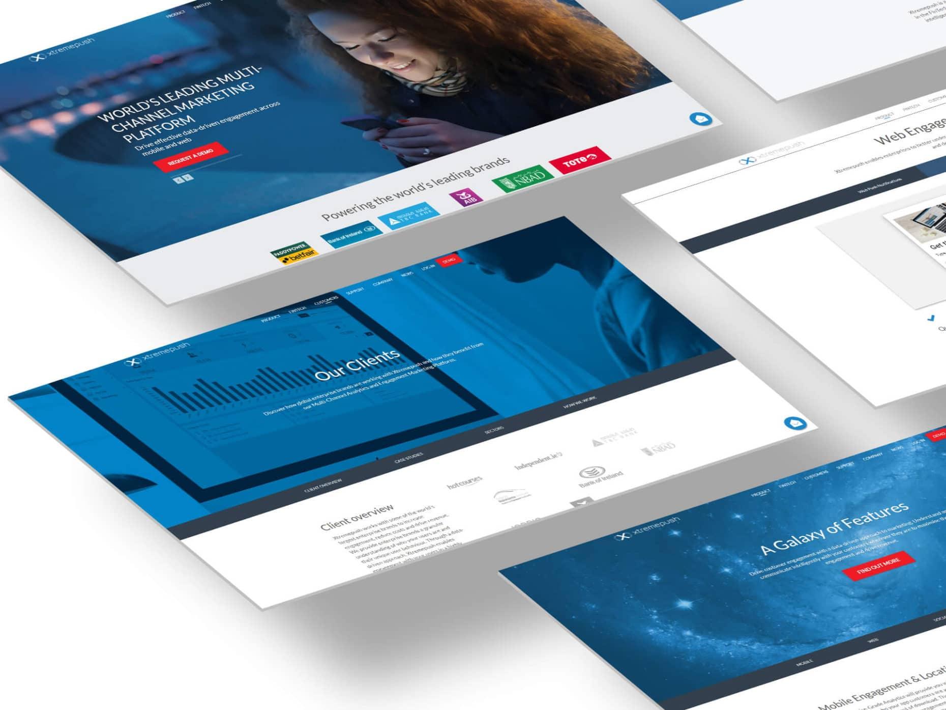 Xtremepush Website
