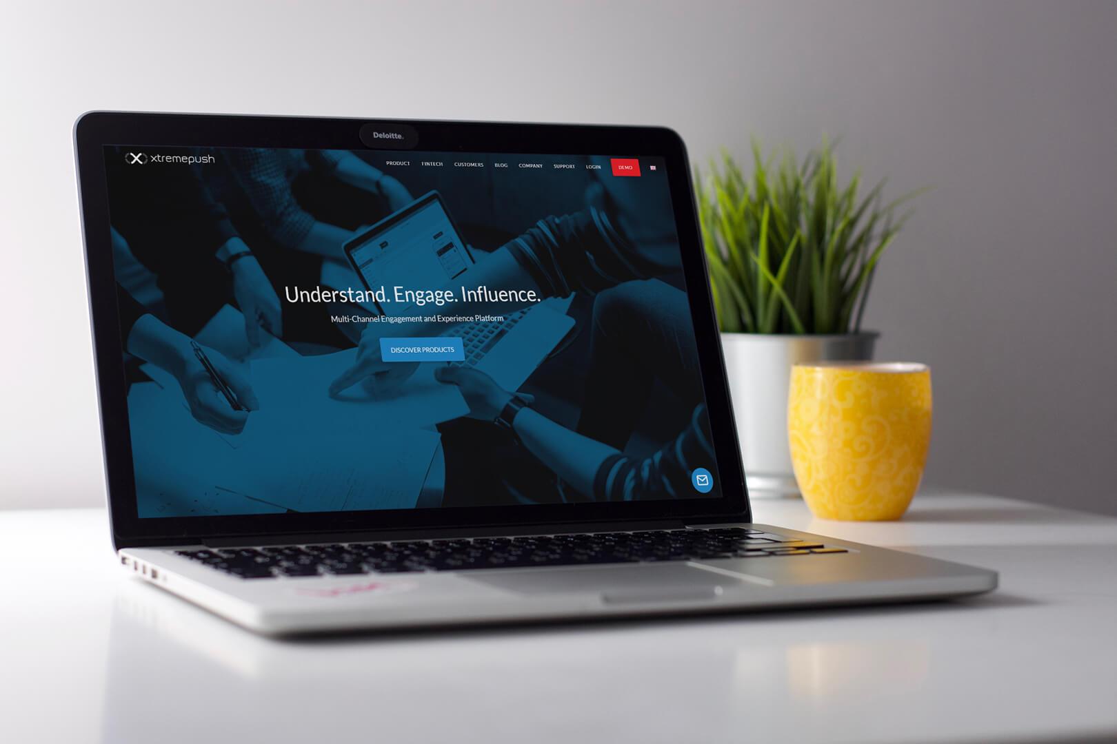 Xtremepush homepage