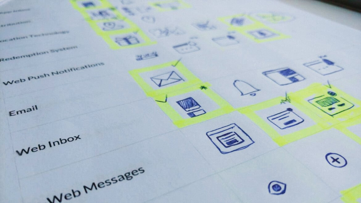 planning icons